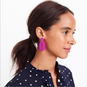 JCrew Beaded Dangle Earrings